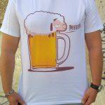 тениска с бира