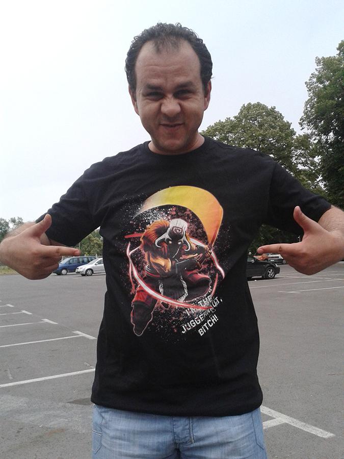 тениска с Dota 2
